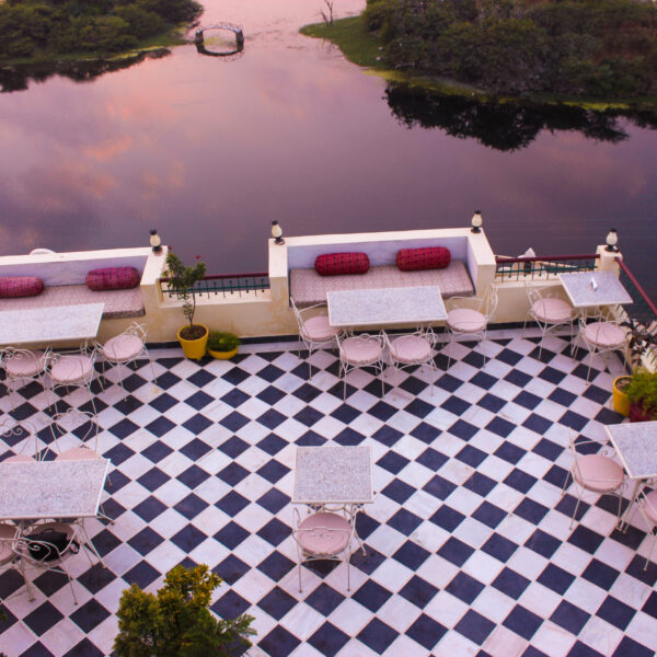 Lakeview Restaurant In Udaipur